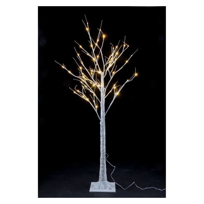 1.5M WARM WHITE LED BIRCH TREE