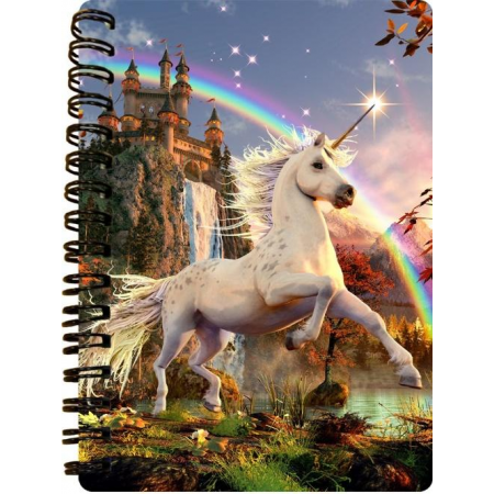 3D LiveLife Jotters - Unicorn Evening Star