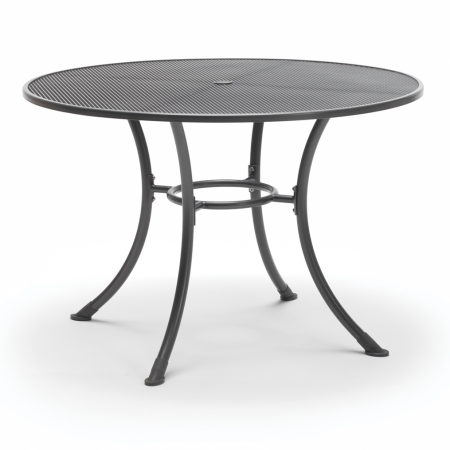 Round 110cm with parasol hole Mesh Table